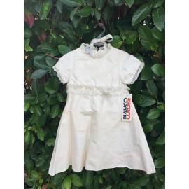 Βαπτιστικό Φόρεμα Μεταξωτό Bianco Colore 8480