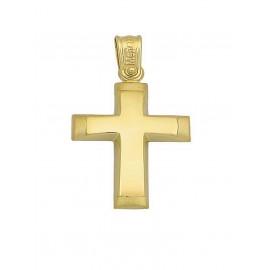 Σταυρός Βάπτισης Από Χρυσό 14K 15347