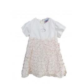Βαπτιστικό Φόρεμα Bianco Colore 620 Μεταξωτό