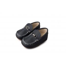 3006-BLUE-BABYWALKER-SHOES (Παπουτσάκια Βάπτισης BABYWALKER BS 3006 Basic)
