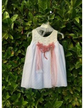 Βαπτιστικό Φόρεμα Με Μπολερό Οικονομικό 2029