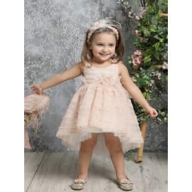 Βαπτιστικό Φόρεμα Mi Chiamo Κ4317