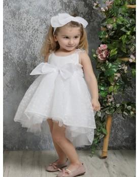 Βαπτιστικό Φόρεμα Mi Chiamo Κ4329