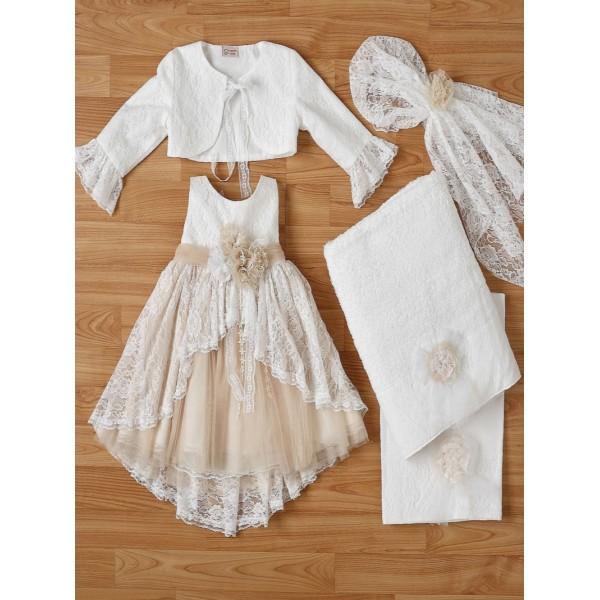 Βαπτιστικό Φόρεμα New Life 2336-3