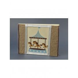 Βιβλίο Ευχών Βάπτισης Αλογάκι Καρουσέλ 50.17500.004